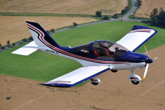 Letadlo 2 místa