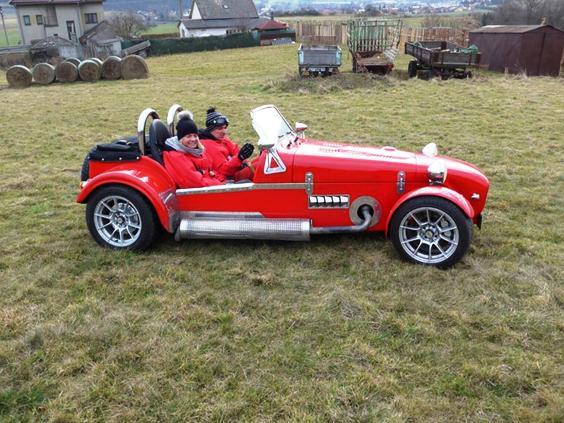 Jízda v Lotusu Seven Turbo