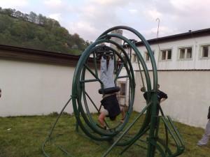 aerotrim - zábavná adrenalinová atrakce k pronájmu