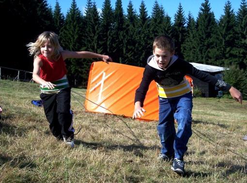 Bungee running - atrakce pro děti