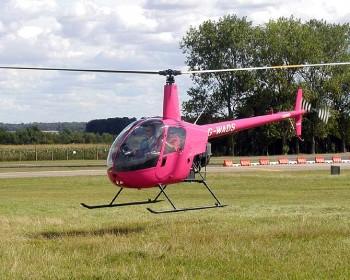 Vrtulník Robinson R22