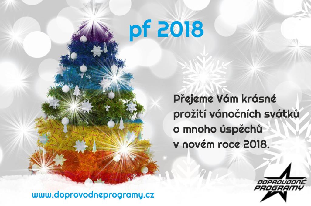 PF 2018 – Doprovodné programy Vám přejí pěkné Vánoce a šťastný nový rok!