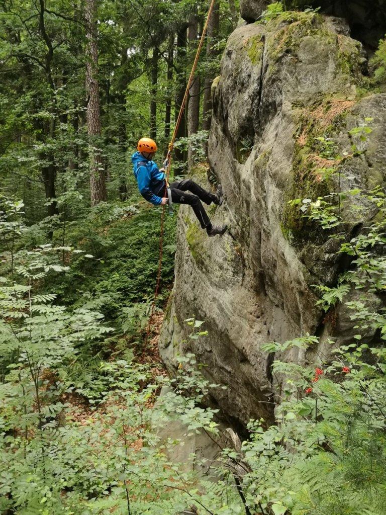 Miniškola skalního lezení, boulderingu, slanění